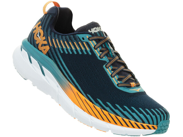 Hoka One One Clifton 5 Løbesko Herrer, black iris/storm blue